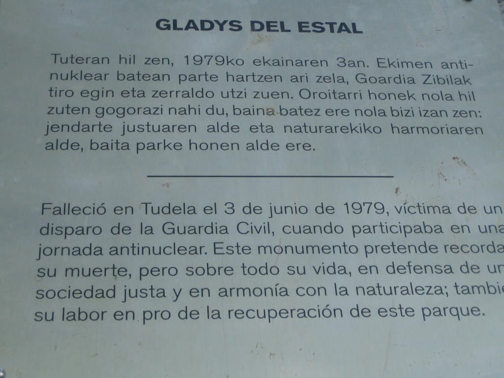 14 07 En memoria de Gladys del Estal